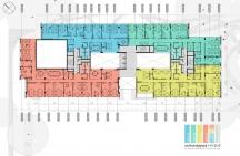 Floors 1,2,3 – Layout Option 1
