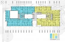 Floors 1,2,3 – Layout Option 2