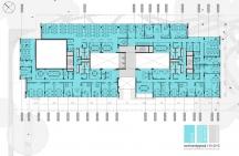 Floors 1,2,3 – Layout Option 3