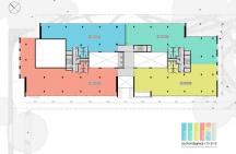 Floors 1,2,3 – Layout Option 4